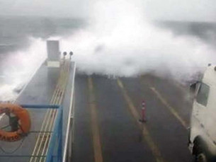 Marinha emite alerta de mau tempo com vento de mais de 70 km/h no litoral norte de SP