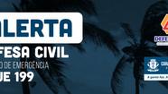 Marinha do Brasil e Defesa Civil alertam para possibilidade de temporais