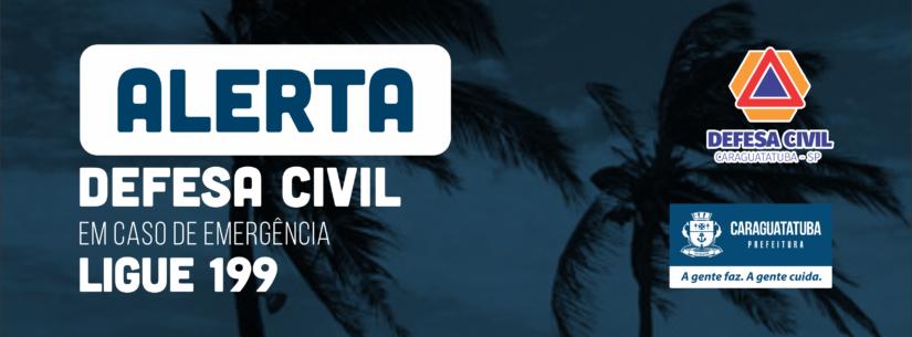 Marinha do Brasil e Defesa Civil alertam para possibilidade de temporais - Foto: Divulgação/PMC
