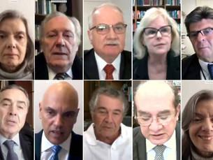 Maioria vota pela continuidade do inquérito das fake news; STF conclui julgamento nesta quinta