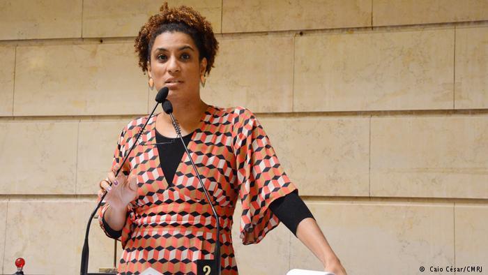 Marielle, de 38 anos, foi a quinta mais votada nas eleições de 2016, sua primeira disputa eleitoral