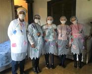 Vestidos de Caipiras, Melhor em Casa de Ilhabela visita paciente em domicílio