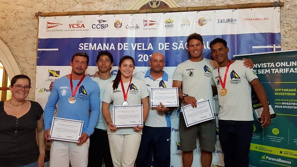 Representantes do arquipélago conquistaram ótimos resultados no Snipe e no Optimist - Foto: Divulgação/PMI