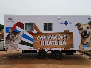 Vigilância em Saúde realiza inscrições para Castramóvel, em Ubatuba