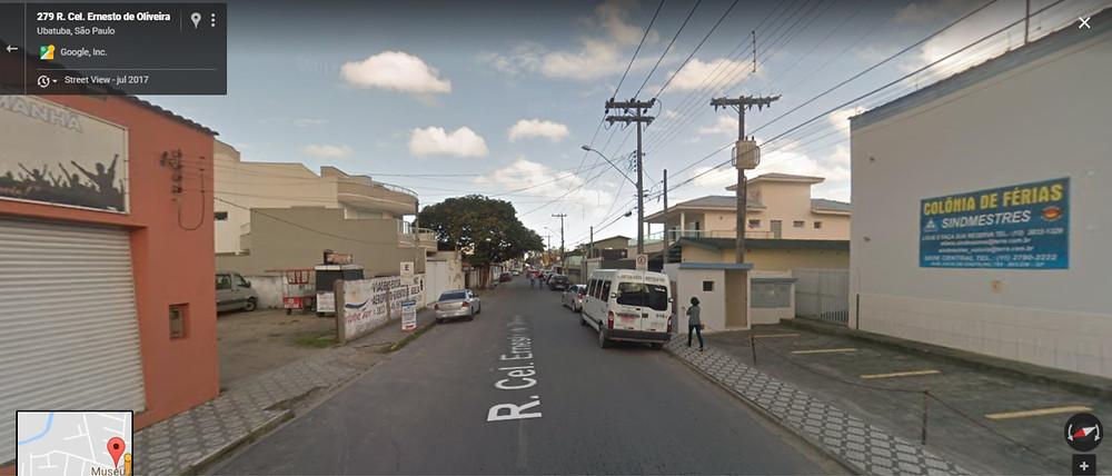 Rua Cel. Ernesto de Oliveira - Imagem: Google