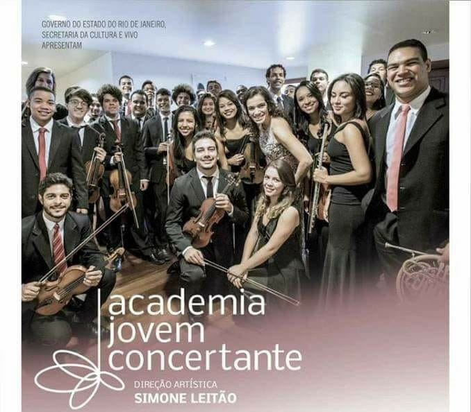 Academia Jovem Concertante cartaz