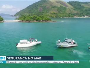 Operação de Verão da Marinha aumenta fiscalização em Angra