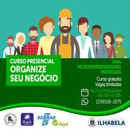 """Prefeitura de Ilhabela realiza curso """"Organize seu negócio"""""""