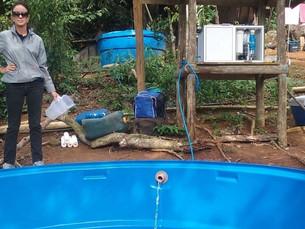 Comunidade da Ilha do Montão de Trigo, em São Sebastião, é beneficiada com água potável