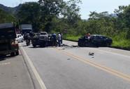 Acidente deixa um morto e cinco feridos na Rio-Santos, em Angra dos Reis