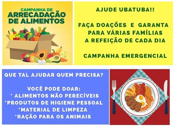 Alimento Ubatuba - Foto: Divulgação