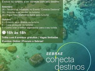 Sebrae Conecta Destinos apresenta tendências do turismo em consultoria online gratuita