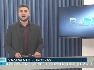 Petrobras detecta vazamento de mais 6,6 mil litros de óleo na Bacia de Campos