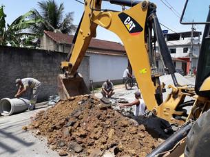Prefeitura de Angra realiza recapeamento de 13 ruas do Areal