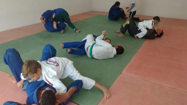 Jiu jitsu na Fundac - Foto: Divulgação/PMU