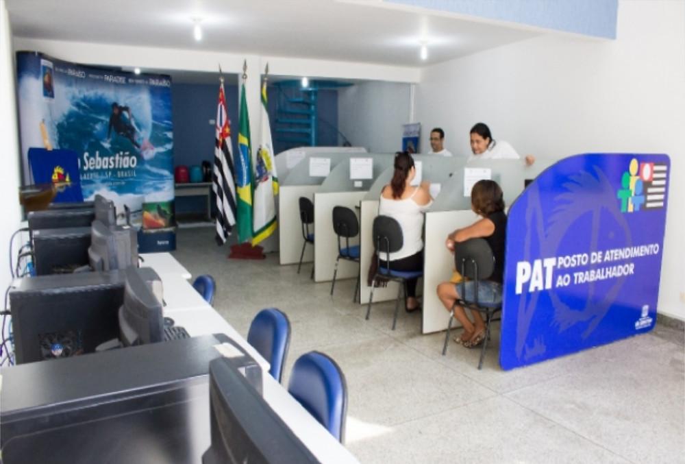 Posto de Atendimento do Ministério do Trabalho em São Sebastião - Foto: André Santos/PMSS