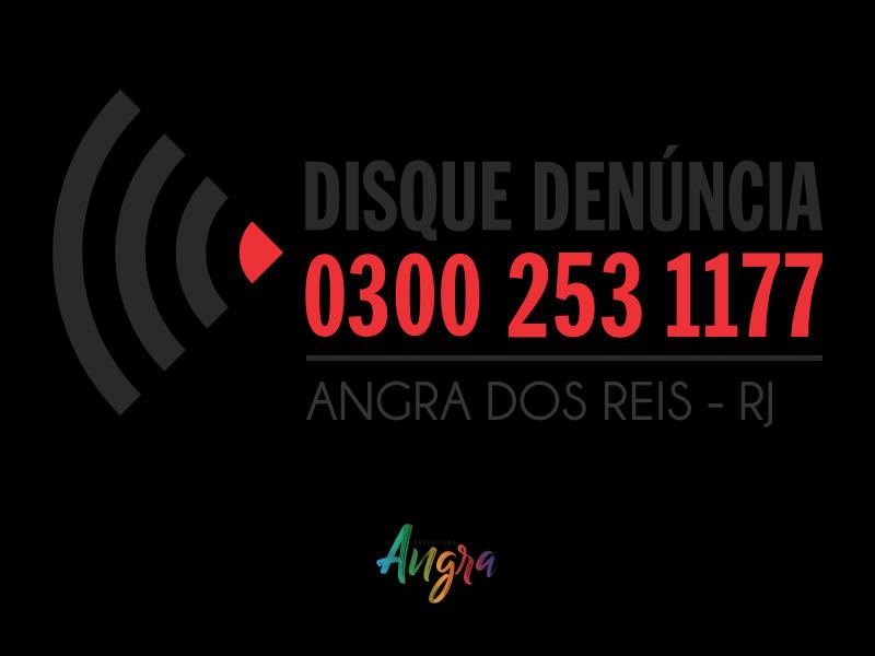 Disque denúncia Angra dos Reis - Foto: Divulgação/PMAngra