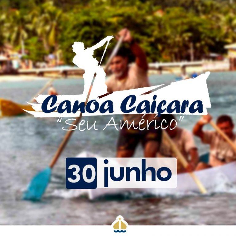 Cartaz Canoa Caiçara - Foto: Divulgação/PMI