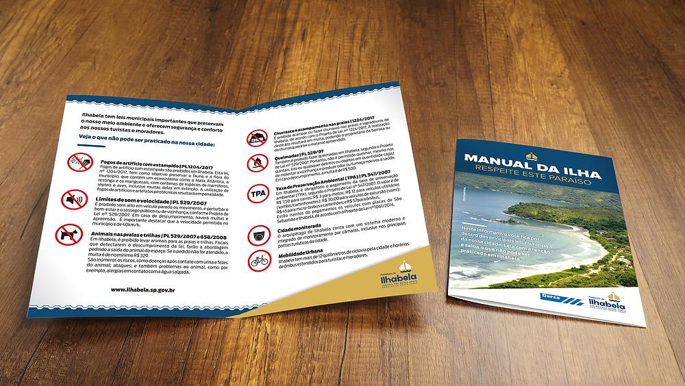 Manual da Ilha - Foto: Divulgação/PMI