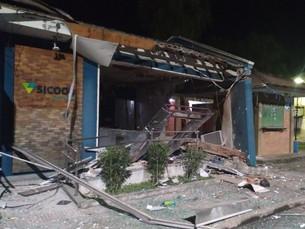 Criminosos explodem duas agências bancárias durante tentativa de assalto em Paraty