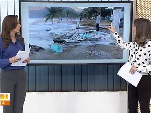 Marinha prorroga até terça alerta de ressaca na Costa Verde do Rio