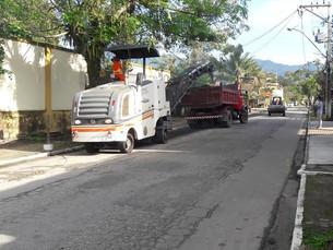 18 ruas do Parque Mambucaba serão recapeadas