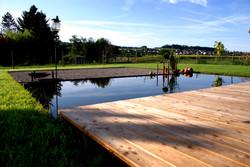 Gartenbau - Wasser & Holz, Biel