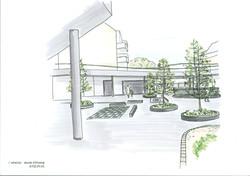 Planung Innenhofgestaltung