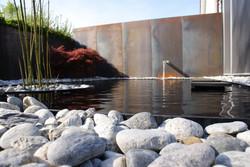 Gartenbau - Metall & Wasser