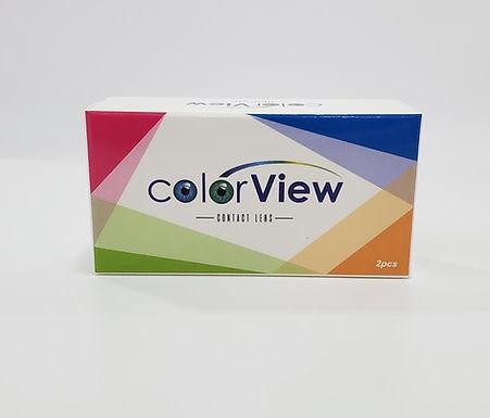 Lentes de Contactos COLOR VIEW   Paquete de 2 Lentes   30 dia - COSMETICOS