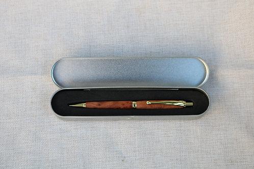 Klickkugelschreiber in Etui