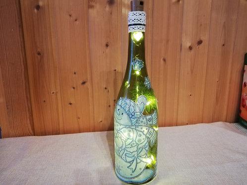 Beleuchtete Flasche