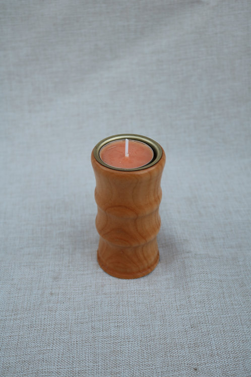 Teelichthalter Kirsche mit Einsatz Höhe 10cm