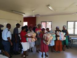 Blanket Donation at LIV Village