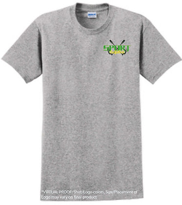 Sport Grey Logo T-Shirt