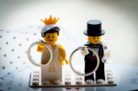 légo wedding !!