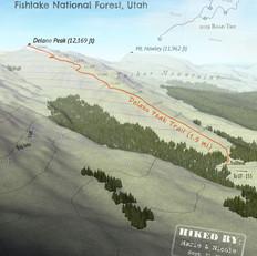 Delano Peak Trail