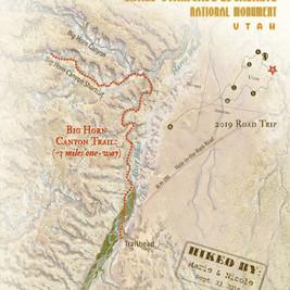 Big Horn Canyon Trail