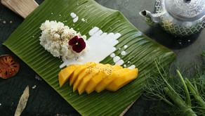 Riz gluant à la mangue (sans gluten et vegan) : en 2 min !