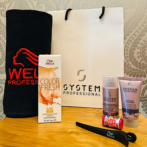 Wella Colourfresh Maintenance Kit.