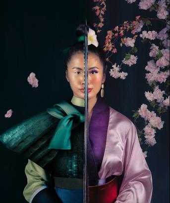 Ling KT as Mulan