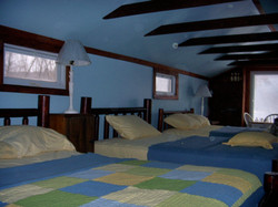 Opposite view of the Bunk Room