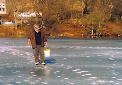 Ice Fishing on Lake Jeff