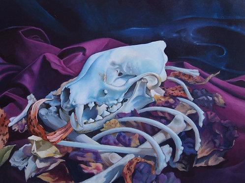 11x8.5 Print - Petals and Bones
