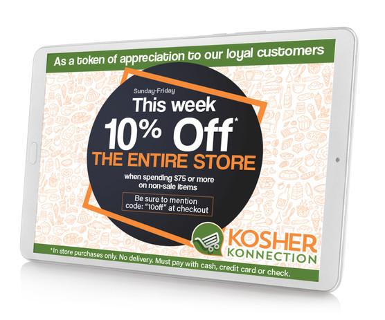 Kosher Konnection Ad