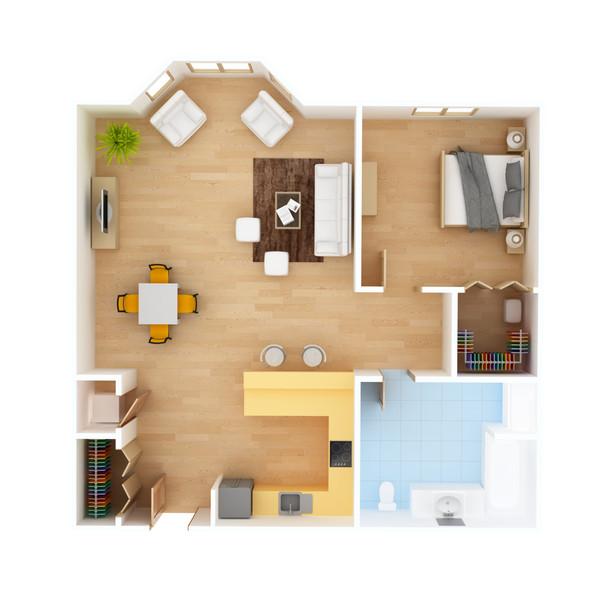3D Floorplan 1