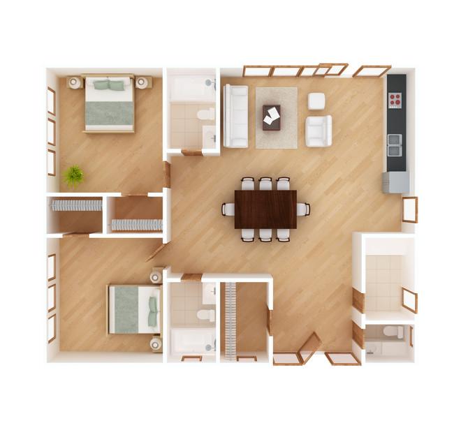 3D Floorplan 2