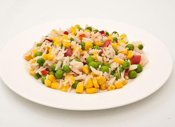 Рис с овощами / цена дополнительной порции за 500 гр.: