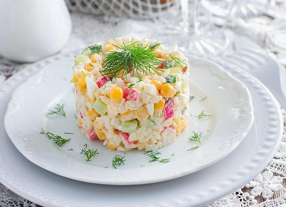 Салат Крабовый/ цена дополнительной порции за 250 гр.: