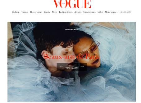 Vogue Italia, Beaux- arts de Paris